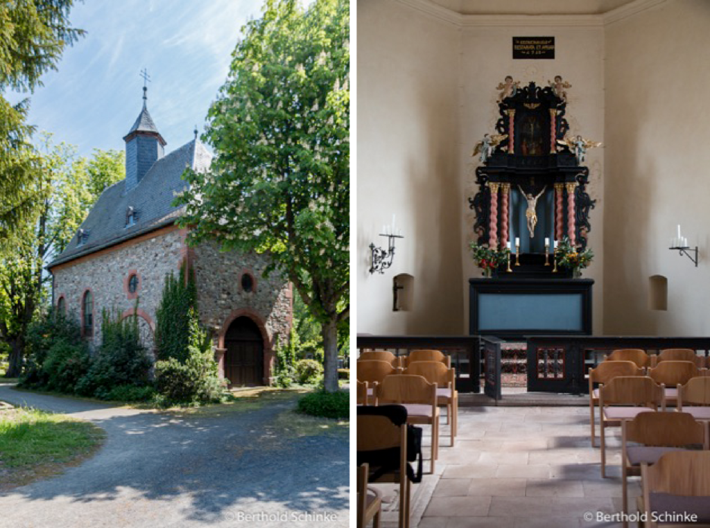 Kreuzkapelle Oberursel. Fotos: B. Schinke