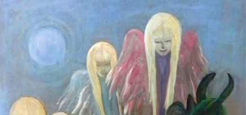 "Jahresausstellung Malerei, Grafik, Porzellan: ""Himmlisch oder Höllisch"""