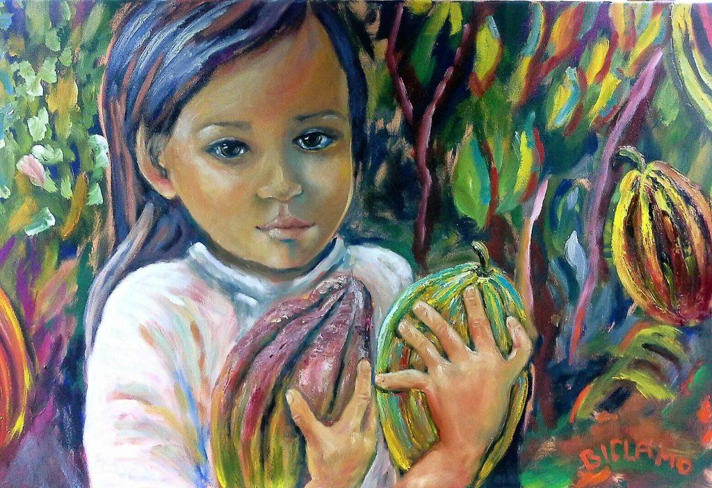 Das Mädchen mit den Kakaofrüchten – Birgit C. Morgenstern