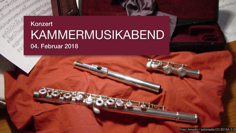 """Konzert """"Kammermusikabend"""", 04. Februar 2018"""