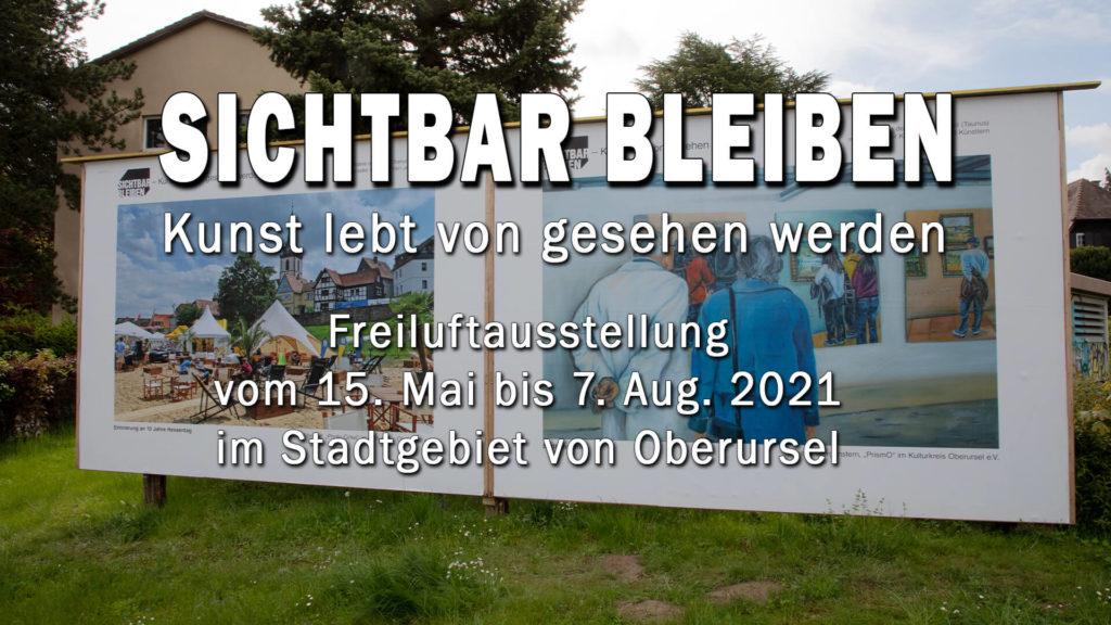 Plakat der Freiluftausstellung
